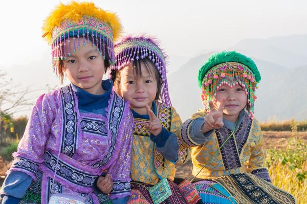 ethnic village chiang mai thailand trekking