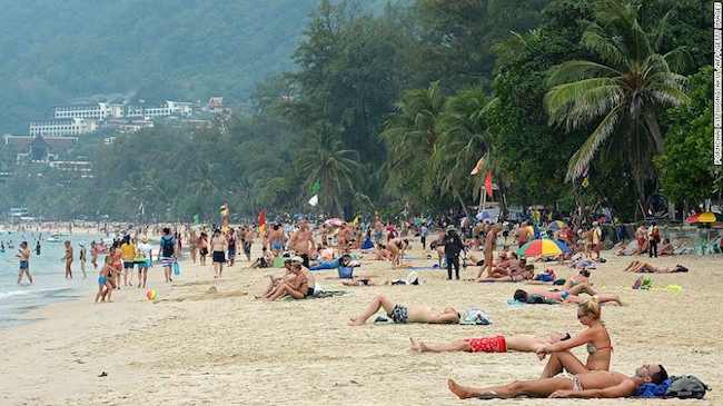 Patong beach Phuket Travel