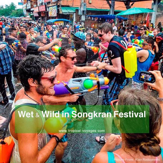 songkran festival Chiang Mai Thailand Travel Guide