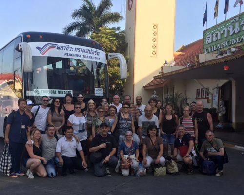 french tour group Tropical Voyages